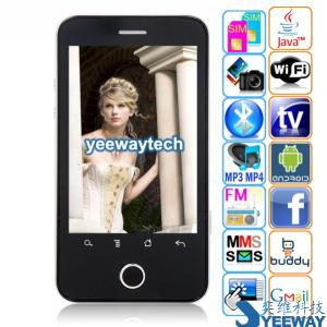 China Tian Xing A3000 Quad Band Dual Cards Dual Standby Single Camera GPRS WIFI JAVA A-GPS Bluetooth Analog TV Android 2.2 OS 3.3-inch Touch Screen Smart Phone on sale