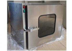 China Small Stainless Steel 201 Dynamic Cleanroom Through Pass Box For Laboratory on sale