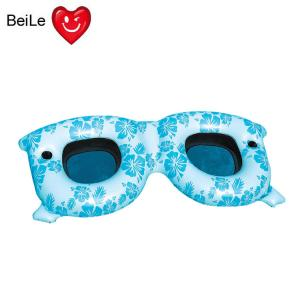 China Pool party inflatable sunglasses pool float on sale