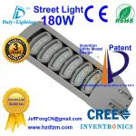 La luz de calle del LED 180W con CE, RoHS certificó y lámpara de enfriamiento del camino de la eficacia del mejor hecha en China