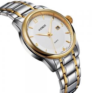 China Nobel stainless steel band watchs men swiss movement office mens watches on sale