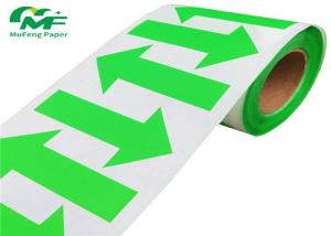 China Sticker Paper Thermal Transfer Shipping Labels , Direct Thermal Transfer Tags on sale