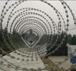 China Hot Dipped Galvanized Razor Concertina Barbed Wire, Flat Wrap Razor Wire wholesale