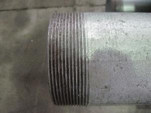 China Tubería de acero galvanizada sumergida caliente, roscado y juntado, CRNA ASTM A53 (GI-LIU-61) on sale