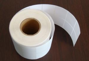 China Wholesale blank adhesive label sticker label paper on sale