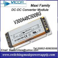 Vicor 500W 48V DC-DC Converters V300A48C500BG