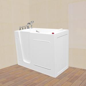 China walk in bathtub model:Acrylic Elder Disable Walk In Bathtub With Shower on sale
