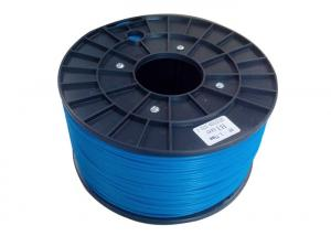 China Bright Blue ABS PLA 3D Printing Filament For DIY Player / 3D Printer Materials on sale