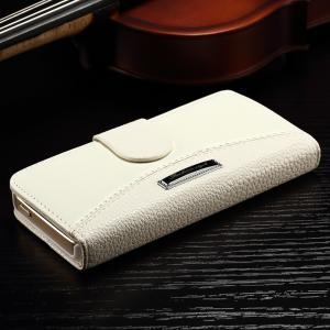 Quality Iphone 7 Plus Vintage IPhone Leather Wallet Case Multi Colors Litchi Splitting for sale