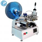 Semi Automatic Bottle Label Applicator For Front And Back Square Bottle
