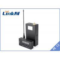 China 長期軍法の施行のためのNLOS 1W小型手持ち型の無線ビデオ送信機COFDMの送信機 on sale