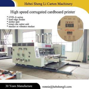 China High Speed Carton Box Printing Machine , Digital Flexo Printing Machine on sale
