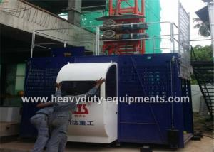 China Construction elevators rated lifting speed 36m/min used at the site of large chimney construction on sale