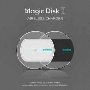 China Smartphone Accessories Universal QI Standard Magic Disk Mobile Wireless Power Charger on sale