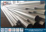 13.8kv 69kv Octagonal Electrical Galvanized Steel Pole Philippines NEA Standard