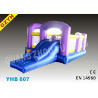 EN14960 Open Toddler Inflatable Jumpers Bouncers Slide YHB-007 for Indoor / Outdoor