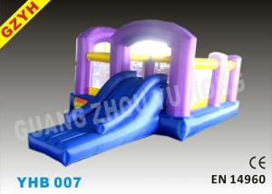 China EN14960 Open Toddler Inflatable Jumpers Bouncers Slide YHB-007 for Indoor / Outdoor on sale