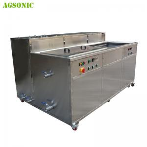China 3 Ultrasonic Washing Tank 2 Rinsing Tank With Filtering1 Drying Tank on sale