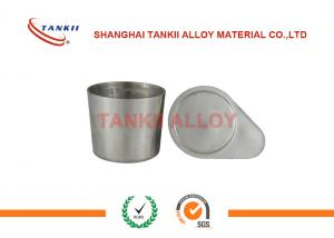 China 50ml Nickel Crucible For Melting Ferroalloy Slag Clay And Refractory on sale