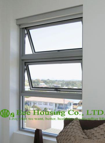 Powder Coating White Color Aluminum Alloy Awning window for