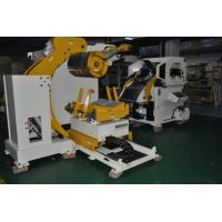 China Strip Coil Automatic Decoiler And  Straightener Feeder For Hardware Production Line on sale