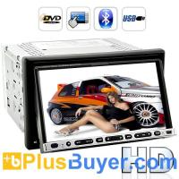 "China Road Hammer - 2 DIN Car DVD Player with Bluetooth - 7"" HD Touchscreen on sale"