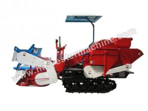 China Crawler Type Small Rice Combine Harvester For Sale on sale