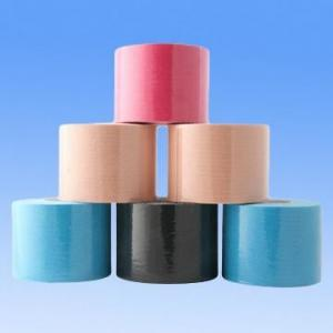 China Colored Kinesiology Tape Waterproof Sports & Athletic Taping for Knee, Shin Splints, Shoulder and Muscle on sale