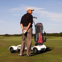EcoRider golf scooter electric golf cart scooter with removable battery