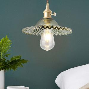 China Glass dome pendant light For Bathroom Dining room Kitchen Lamp Fixtures (WH-GP-06) on sale