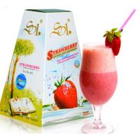 China natural herbal Great Loss Weight Slimming Strawberry Milk Shake weight loss tea on sale
