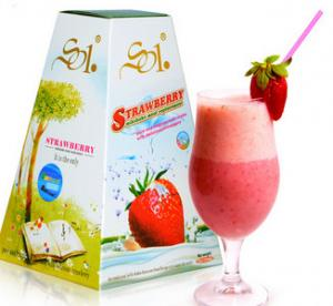 China SOL Great Loss Weight Slimming Strawberry Milk Shake on sale