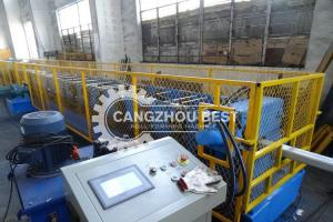 China 12m / Min Down Pipe Roll Forming Machine on sale