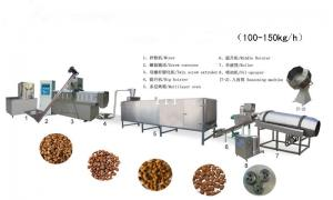 China Automatic Pet Dog Cat Food processing line on sale