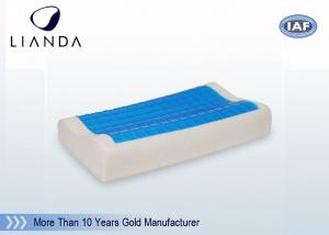 China Visco-Elastic Memory Foam Pillow Cooling Gel Contour Help Deep Sleep on sale
