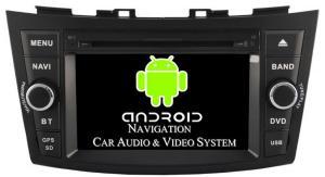 China Multimedia Head Unit Suzuki Swift Auto Radio Car GPS Navigation 1080P HW Video Decoder 2011+ on sale