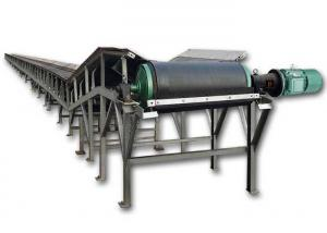 China Coal Powder Anti Static Powered Belt Conveyor High Adaptability Anti Skid Surface on sale