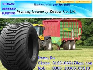 China GREENWAY China factory brand top quality and cheap price Bias farm tractor tire 400/60-15.5 500/50-17 on sale