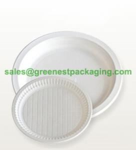 China Disposable Plant Molded Fibre Plate wholesale