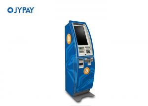 China Cryptocurrency Two Way Bitcoin ATM Machine For Currency Exchange Cash Recycler Available on sale