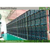 P6.25 Outdoor Large LED Screen Display For Rental Events With LCD Mornitor