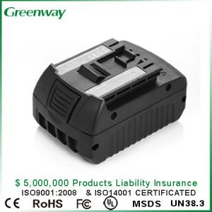 China Replacement tool Battery for Bosh BAT618 18V 3000 mAh rechargeable Power Tool Battery on sale