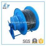 Vertical Coiling Industrial Extension Cord Reel Wide Application Reversible Unit Equipped
