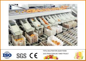 China 20T/H Capacity Orange Juice Production Line , Orange Juice Processing Plant on sale