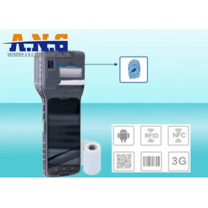 China UHF RFID reader 3G android printer terminal with GPS / WIFI / Bluetooth on sale