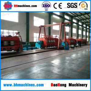 China JLK710/6+12+18+24+30 Rigid Frame Stranding Machine aluminum wire Stranding Machinery on sale