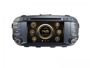 China In Car DD CD Player 3G Bluetooth SWC Camera Input Aux In for KIA Soul on sale