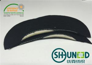 China Mens Wear Foam Sewing Shoulder Pads Black For Apparel Industry on sale