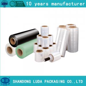 China Wrapping Roll Clear LLDPE cling wrap Film Machine Plastic on sale