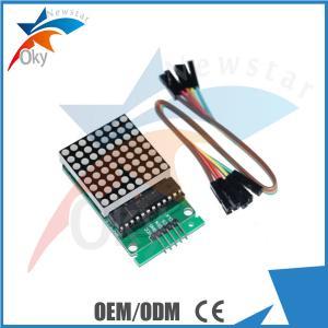 China Display Module 2016 LED Matrix Module Dot Matrix Display led MAX7219 on sale